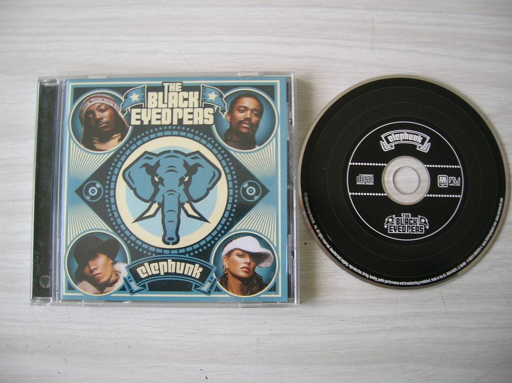 CD THE BLACK EYES PEAS Elephunk 5 Nantes (44)