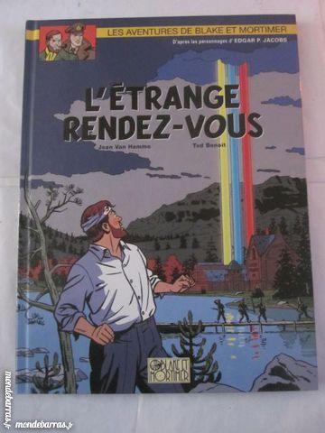 BD E.O. BLAKE ET MORTIMER 15 L'ETRANGE RENDEZ VOUS Livres et BD