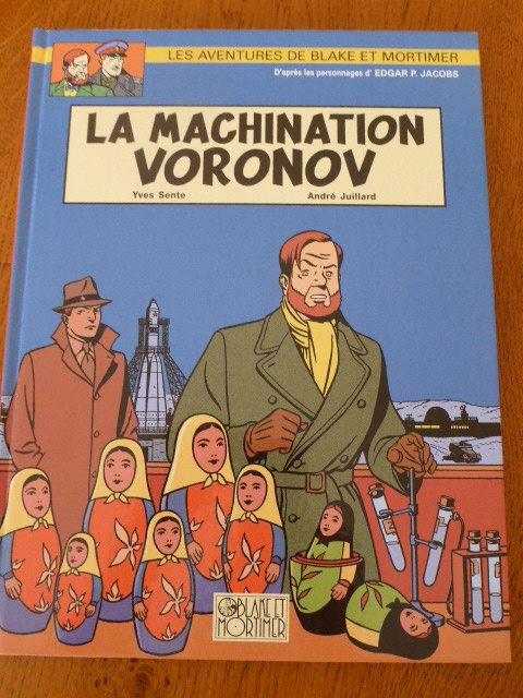 Blake et Mortimer La machination Voronov EO 20 Rueil-Malmaison (92)