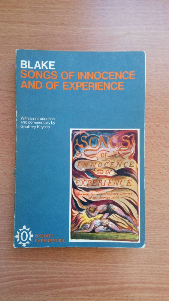 BLAKE W., Songs of Innocence and of Experiance. 5 Limoges (87)