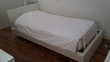 Lit blanc en bois 90×200 Meubles