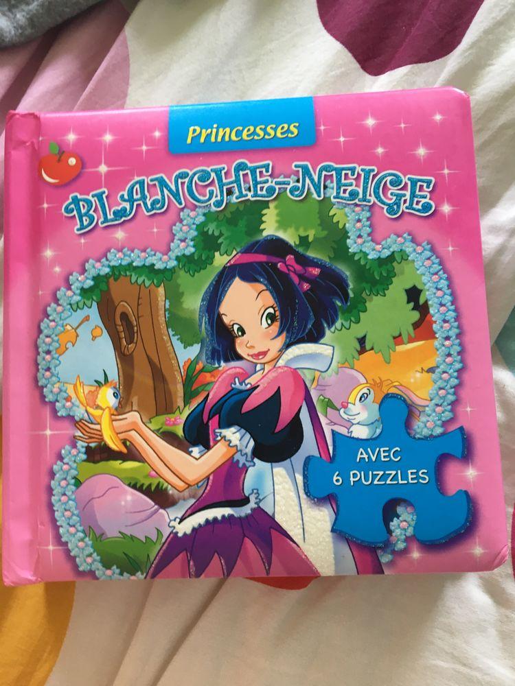 Blanche Neige avec six puzzle  5 Toulouse (31)