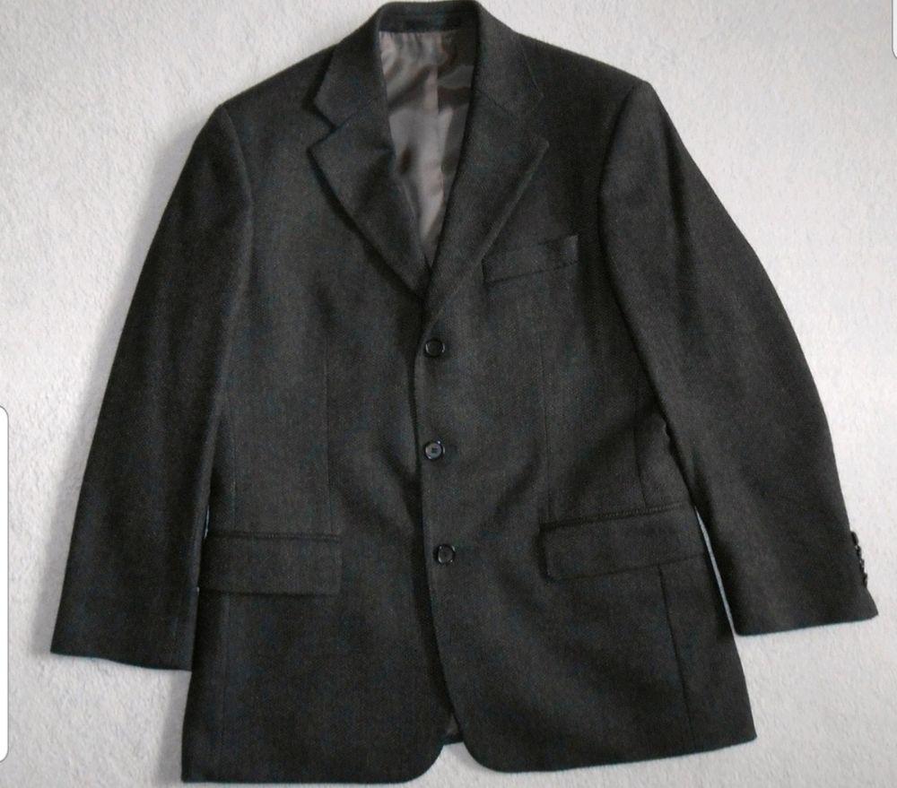 Blazer Hugo Boss Gris en laine et cachemire homme Taille S ( 46 ) neuve et d'origine. 65 Saint-Cyr-l'École (78)