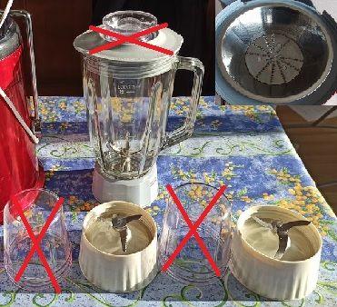 Blender Robusta tutti frutti pièces détachées 13 Beauchamp (95)