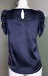 Top bleu nuit SANDRO  Taille 1 soit 36-38 Vêtements