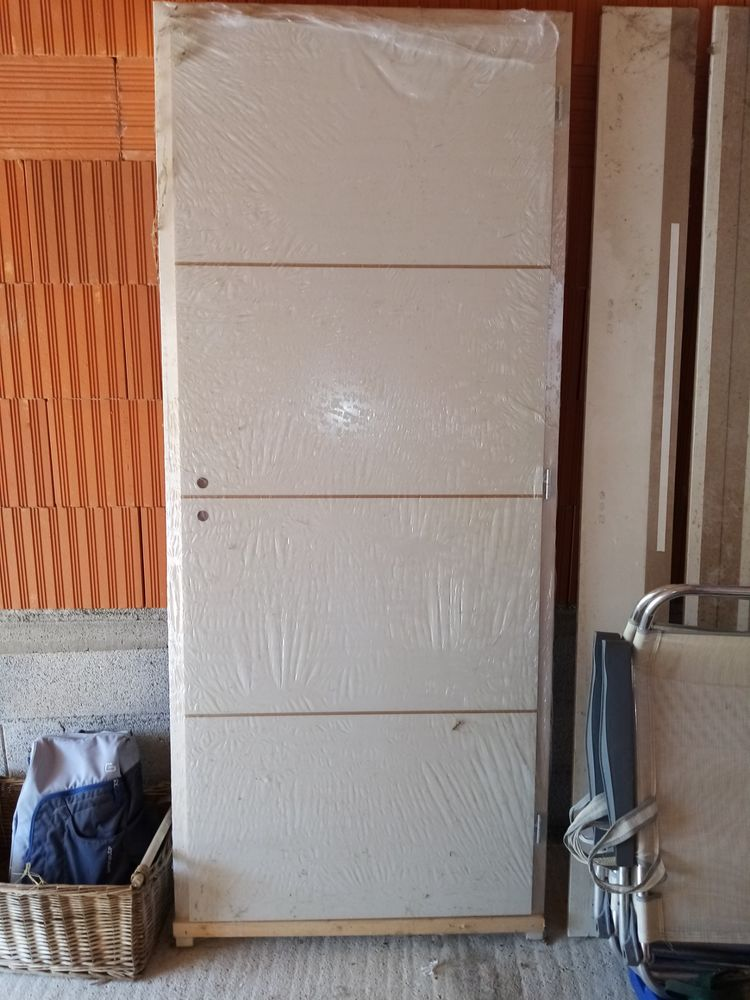 Bloc porte blanc 215x90 0 Montaud (34)