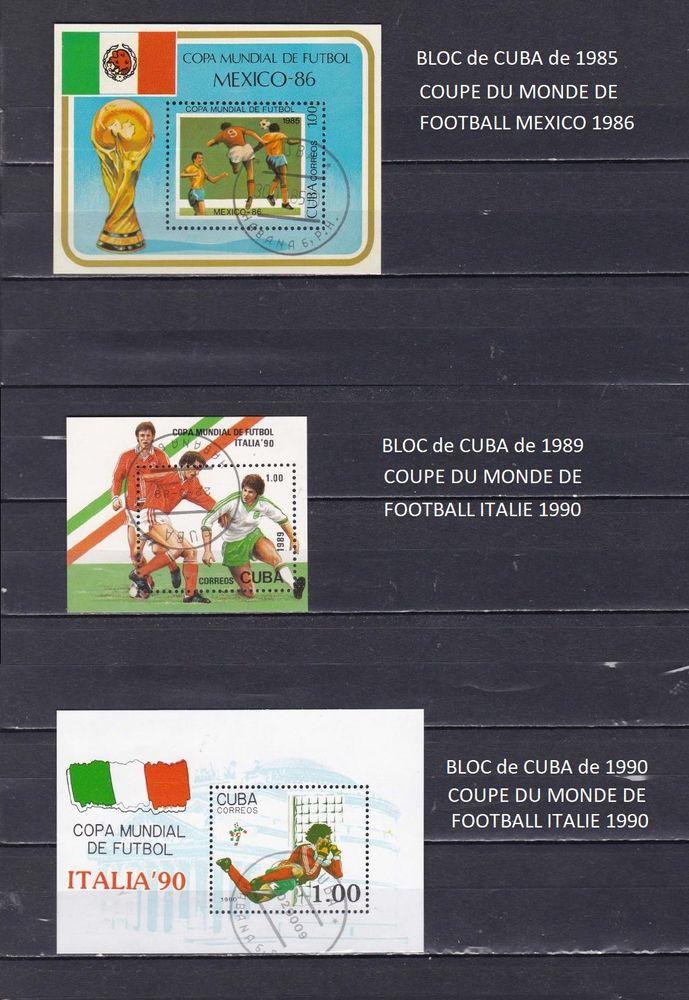 3 blocs de CUBA sur le FOOTBALL