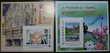 Lot des 2 blocs FFAP n° 8 et n° 9 parus en 2014  Moulins-le-Carbonnel (72)