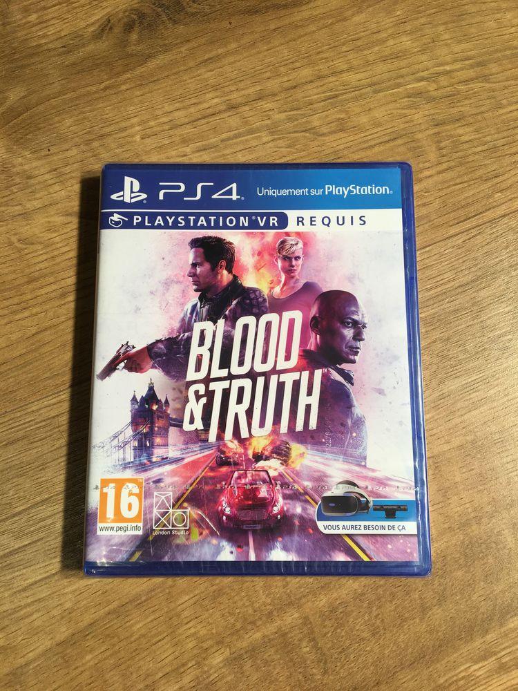 Ps4 - Blood & truth - jeu neuf  20 Chavenay (78)