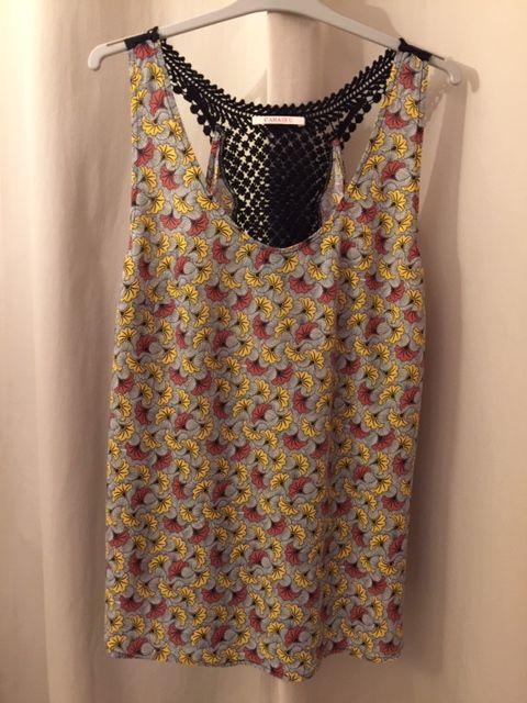 Top blouse Femme Camaïeu T. 40 motif fleuri  5 Saulx-les-Chartreux (91)