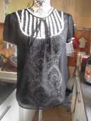 BLOUSE voile crèpe DIVIDCD NEUF TAILLE 36 8 Lyon 5 (69)
