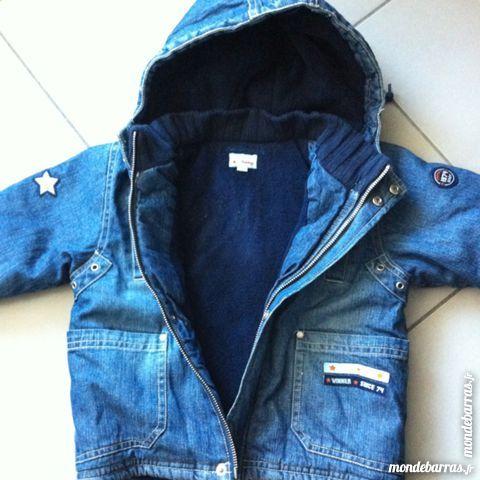 Blouson Baby jeans doubler Polaire T:18M 10 Perpignan (66)
