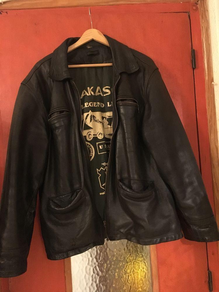 Blouson cuir Akaso Vêtements
