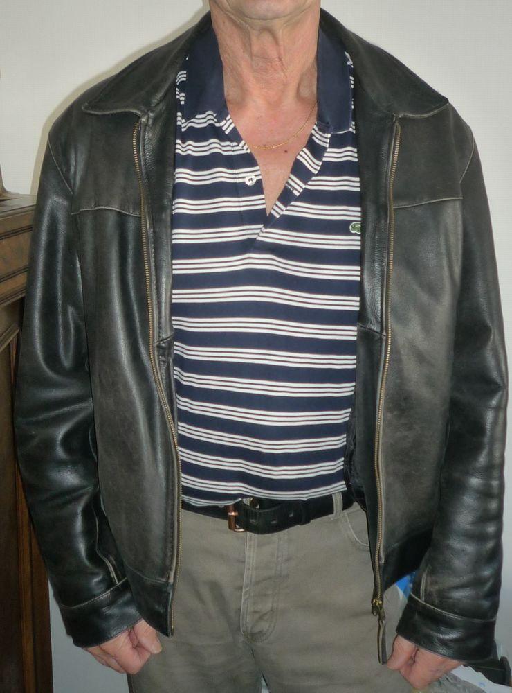 Blouson cuir Homme  99 Nancy (54)