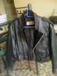 blouson cuir noir perfecto + veste cuir a franges Montpellier (34)