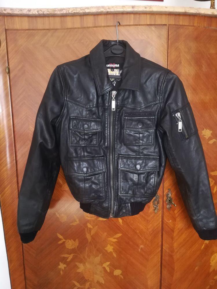 Blouson cuir Segura 52 Nice (06)