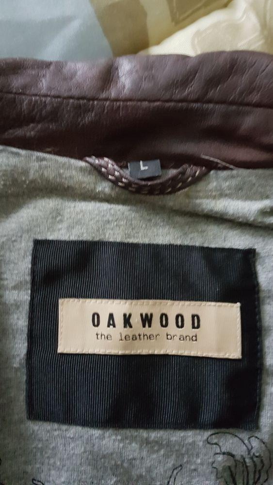 Blouson de cuir Taille L Oakwood 70 Boeschepe (59)