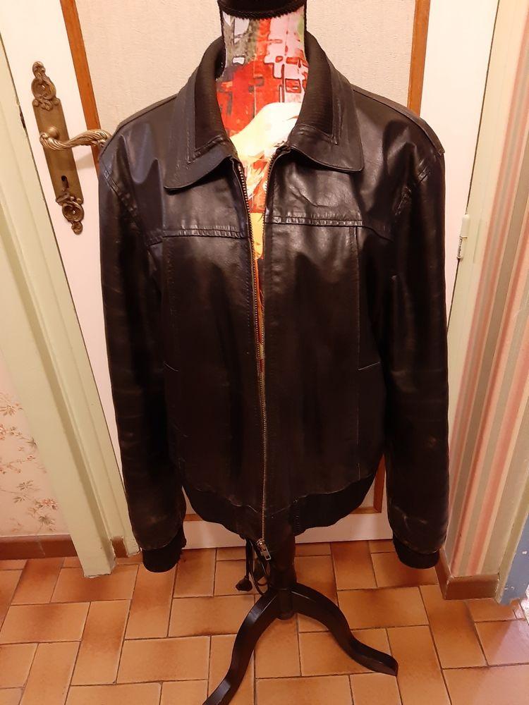 Blouson cuir vachette 60 Noyon (60)