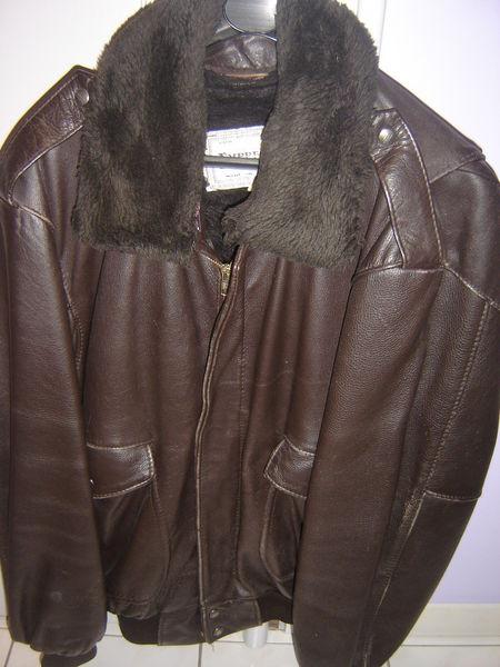 Blouson cuir 50 Laval (53)
