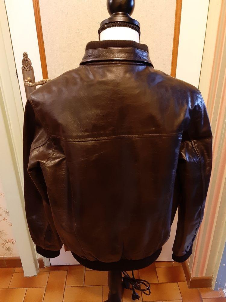 Blouson cuir 55 Noyon (60)