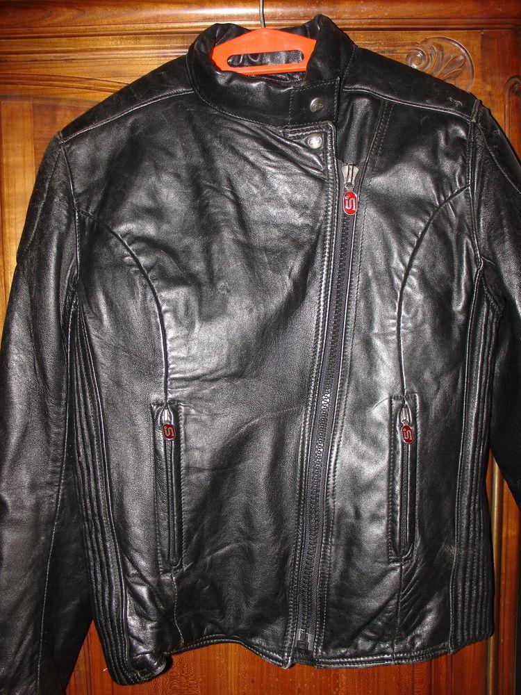 Blouson motard cuir  80 Carpentras (84)