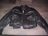 blouson moto cuir noir 70 Saint-Trivier-de-Courtes (01)