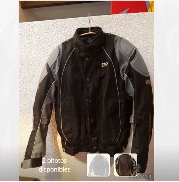 BLOUSON MOTO TECHWEAR H/F 0 Saint-Just (34)