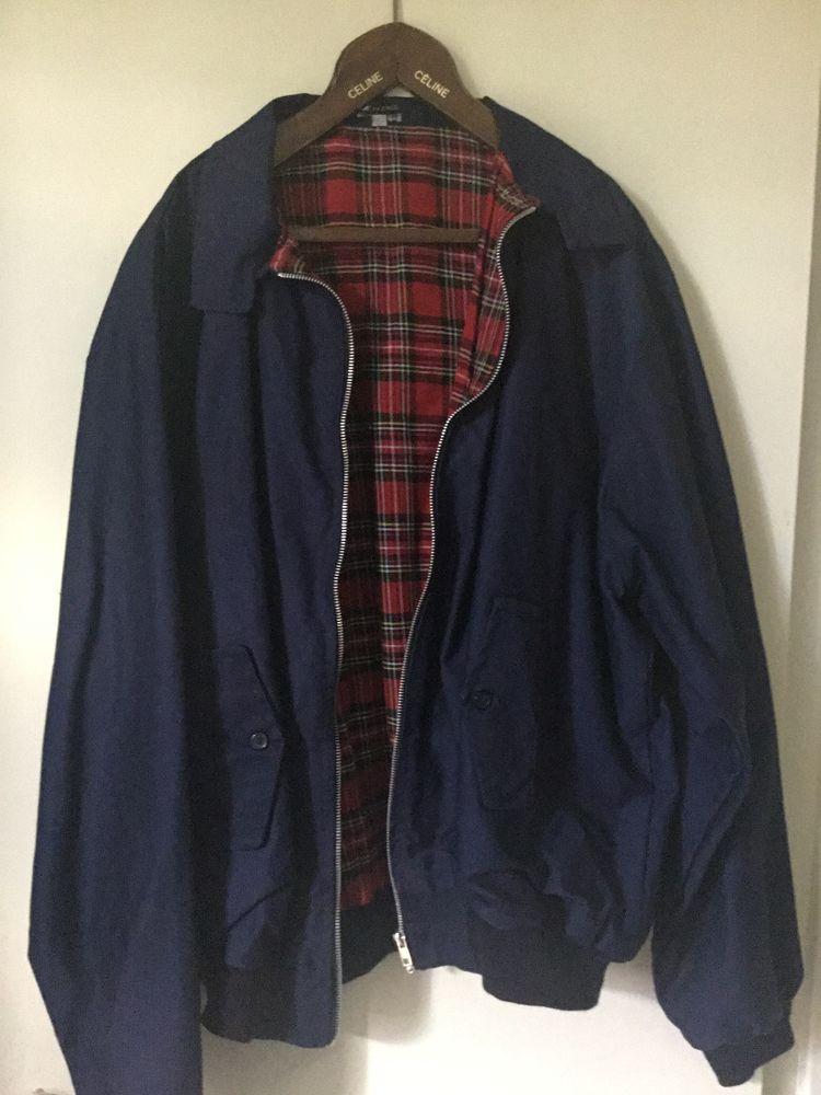 blouson neuf style anglais très bonne qualité, jamais porté, un blouson en couleur noir et un blouson en couleur marine taille en 4 XL 45 Pontault-Combault (77)