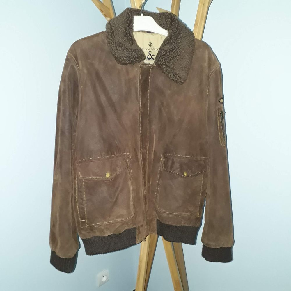 """Blouson Style Aviateur """"Mays & Rose Jacket"""" Homme Taille L Vêtements"""