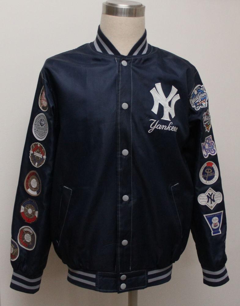 des series YANKEES Blouson baseball World NY wXTlZPkiuO