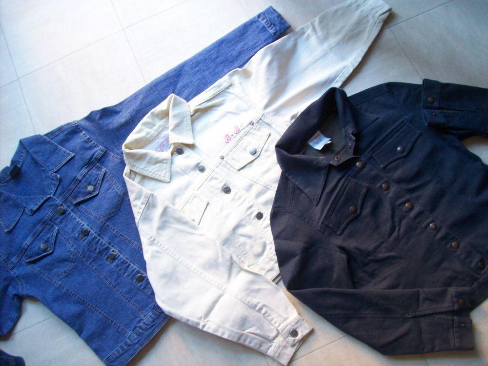 BLOUSONS JEAN - bleu, , bleu marine - zoe 7 Martigues (13)