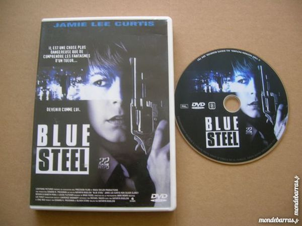 DVD BLUE STEEL -Jamie Lee Curtis - Film Policier L 6 Nantes (44)