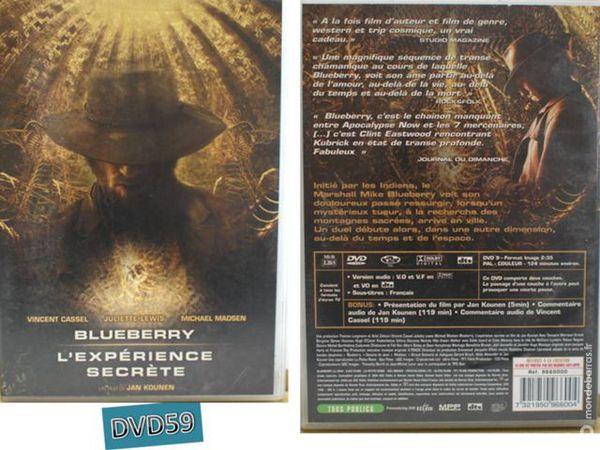 Dvd - blueberry - l'esperience secrete (v.cassel) 5 Mons-en-Barœul (59)