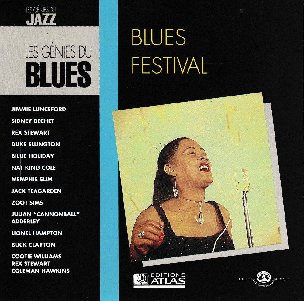 CD Blues Festival - Les Génies Du Blues CD et vinyles