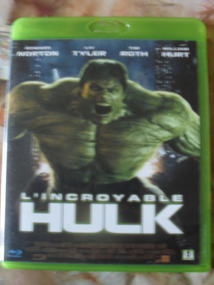 DVD BluRay l'Incroyable HULK 15 Montreuil (93)