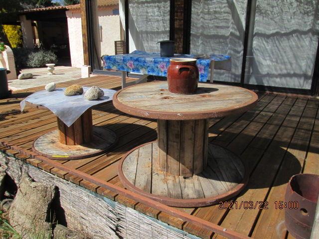 Bobines en bois cerclées 60 Néoules (83)