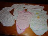 Lot de 6 bodys fille taille 6 mois à 5 euros 5 Lauraët (32)
