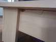 Lit en bois 140 x 190cm + Table de chevet Meubles
