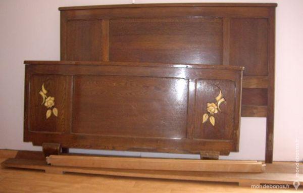 achetez bois de lit ancien occasion annonce vente pontrieux 22 wb152753561. Black Bedroom Furniture Sets. Home Design Ideas