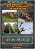 Bois de chauffage , élagage et entretien d'espace vert  47 Chelles (77)
