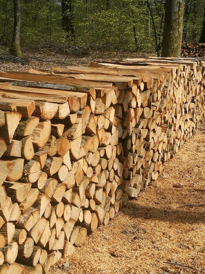 Bois de chauffage sec livré  48 Besançon (25)
