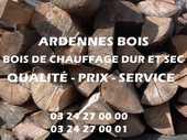 Bois de chauffage en longueur de 40 cm 52 Montreuil (62)