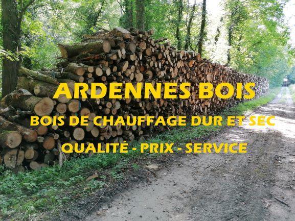 Bois de chauffage en longueur de 50 cm bois dur et sec 46 Charleville-Mézières (08)