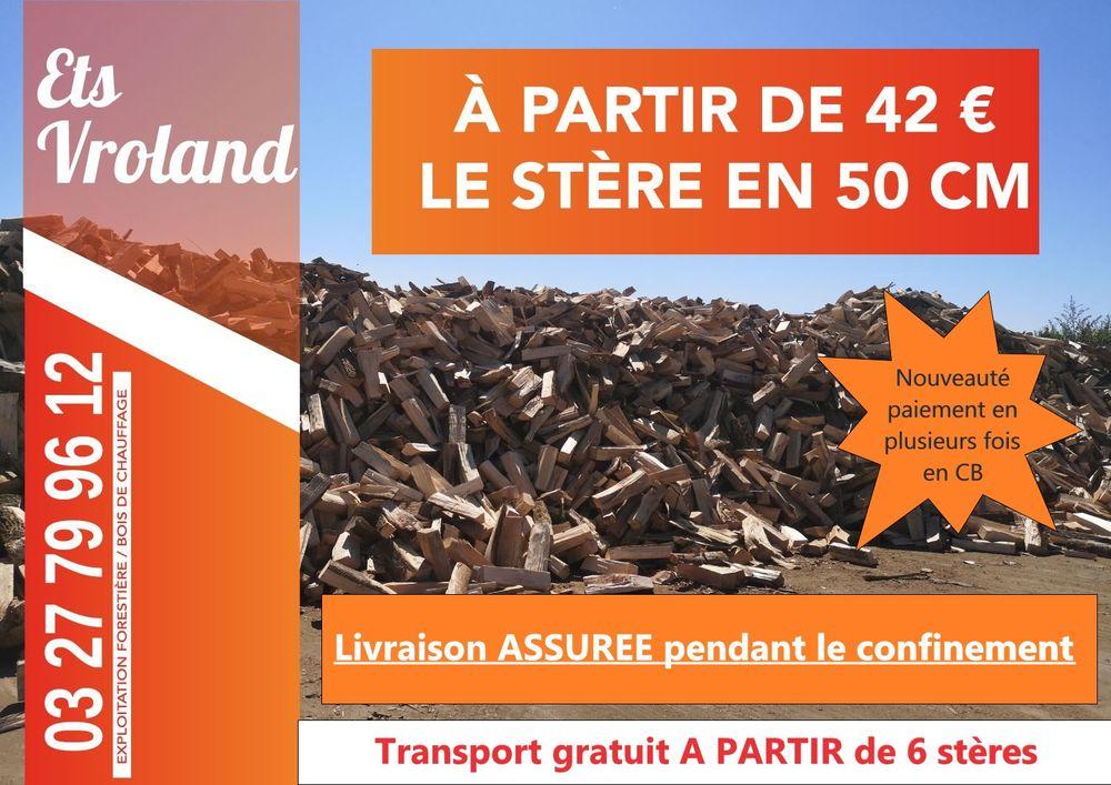 BOIS DE CHAUFFAGE VRAC - ETS VROLAND  42 Lille (59)