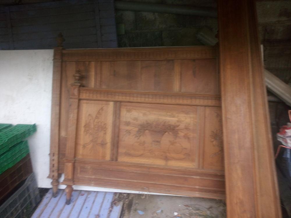 lit bois massif ancien 30 Eyguières (13)