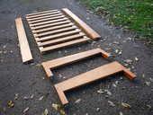 Lit en bois pitchpin  190cm x 90cm 25 Castres (81)