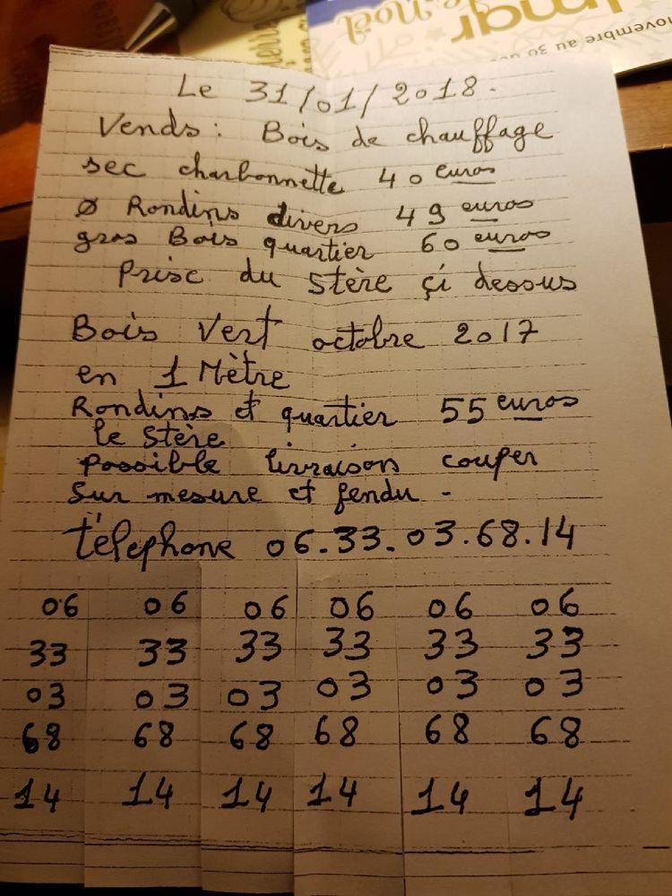 Bois pour chauffage 40 Colmar (68)