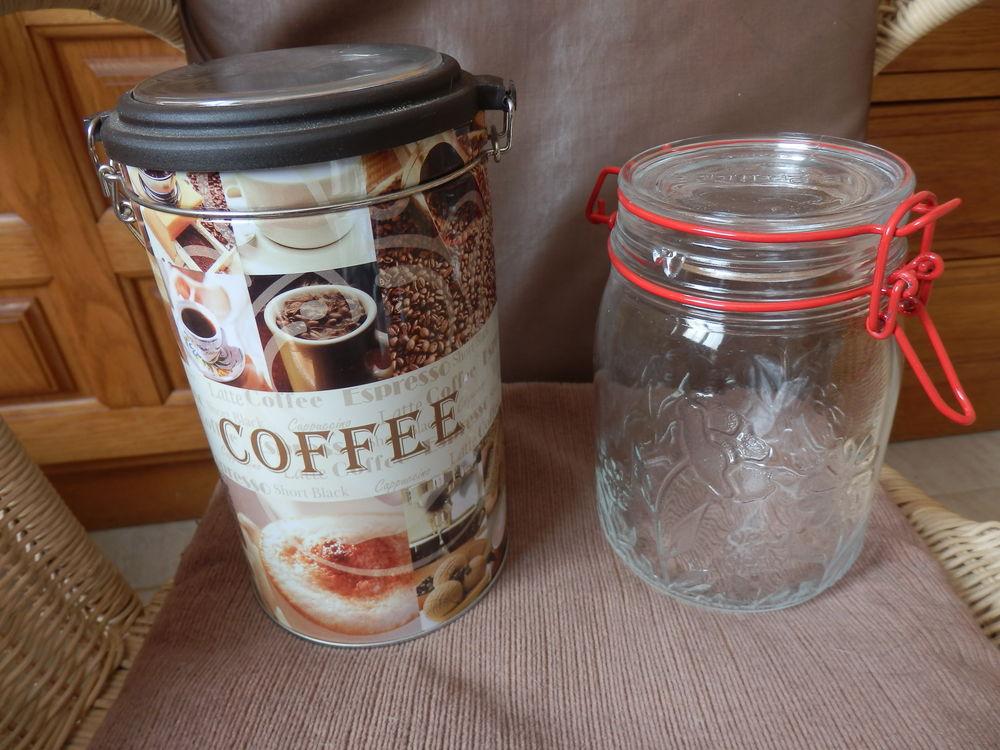 Boîte à café et bocal NEUFS 2 La Garenne-Colombes (92)
