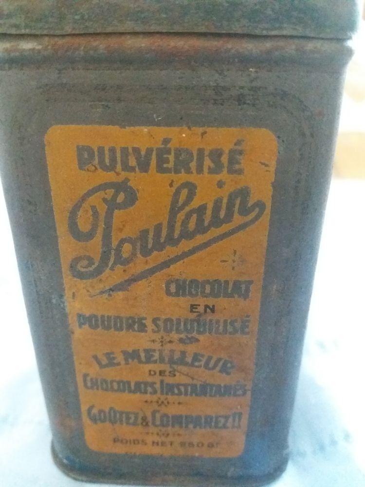 BOITE CHOCOLAT POULAIN 10 Fossé (41)