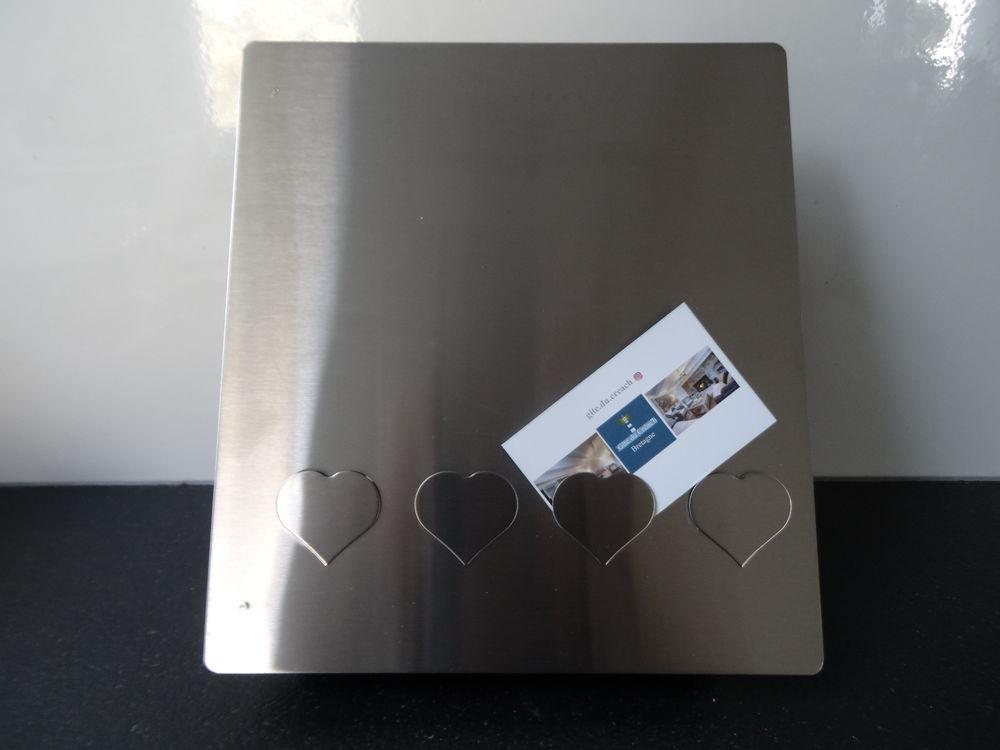 Boîte à clés design en inox, neuve 25 Brest (29)